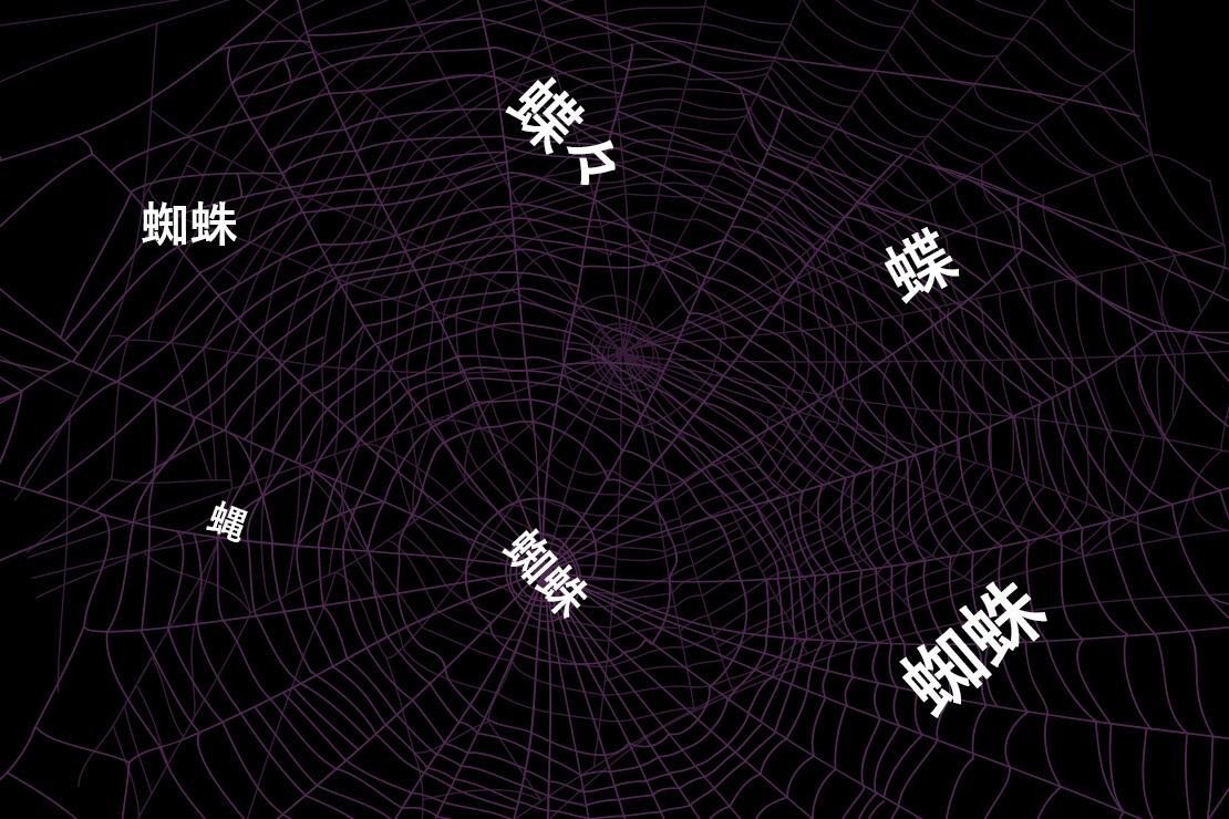 ドクターUの幻語新作8 蜘蛛恐怖症